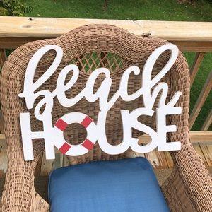 🏝Adorable Beach House Sign